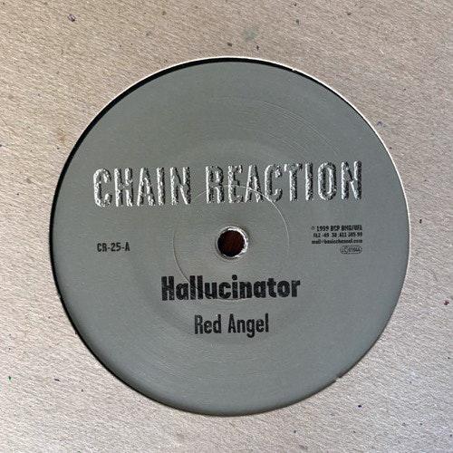 "HALLUCINATOR Red Angel (Chain Reaction - Germany original) (NM/EX) 12"""