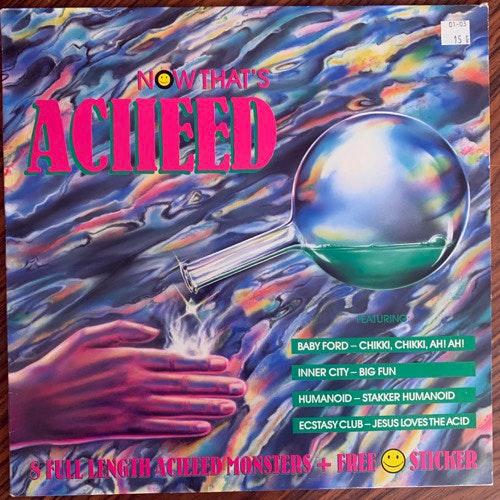 VARIOUS Now That's Aciieed (Flim Flam - Germany original) (VG+) LP