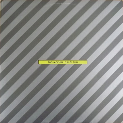 VARIOUS The Haçienda - Play By 01/96 (A&M - UK original) (VG+/EX) 3LP
