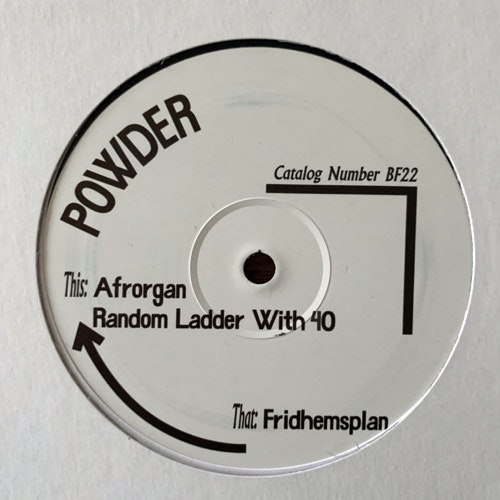 "POWDER Afrorgan (Born Free - Sweden original) (NM) 12"""