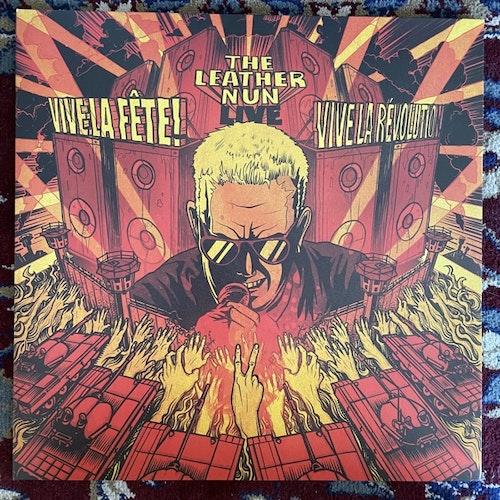 LEATHER NUN, the Vive la Fête! Vive La Révolution! (Wild Kingdom - Sweden original) (NM(EX) LP