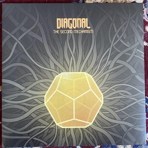 DIAGONAL The Second Mechanism (Rise Above - UK original) (NM/EX) LP