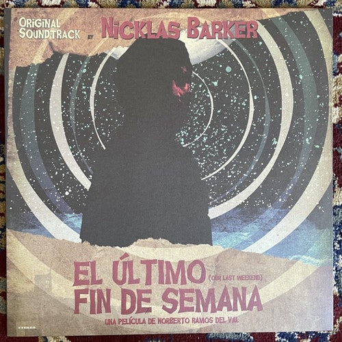 SOUNDTRACK Nicklas Barker ‎– El Último Fin De Semana (Virtalevy - Sweden original) (NM/VG+) LP
