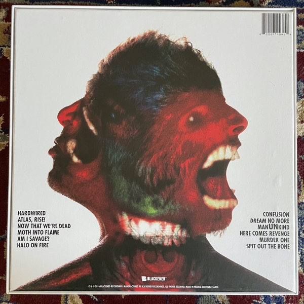 METALLICA Hardwired...To Self-Destruct (Blackened - Europe original) (NM) 3LP+CD BOX