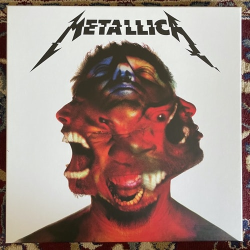 METALLICA Hardwired...To Self-Destruct (Blackened - Europe original) (NM) 3LP+CD BOX