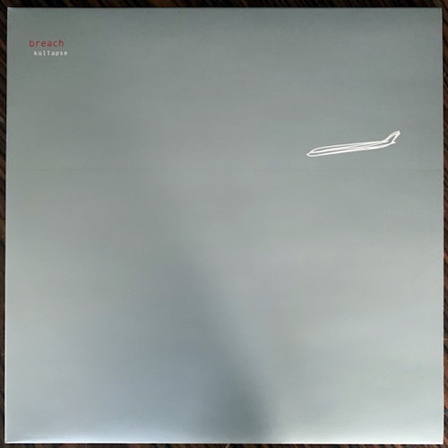 BREACH Kollapse (Clear vinyl, ltd to 100) (Apocaplexy - Europe reissue) (NM) 2LP
