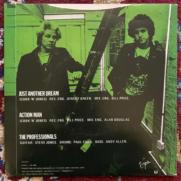 "PROFESSIONALS, the Just Another Dream (Virgin - UK original) (VG+) 7"""