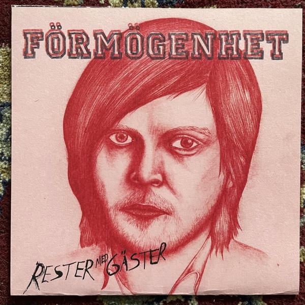 """FÖRMÖGENHET Rester Med Gäster (White vinyl) (Jonassons Grabb - Sweden original) (EX) 7"""""""