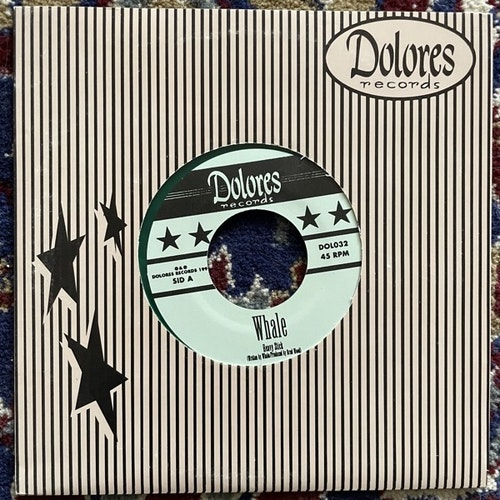 "WHALE Heavy Stick (Green vinyl) (Dolores - Sweden original) (EX/VG+) 7"""