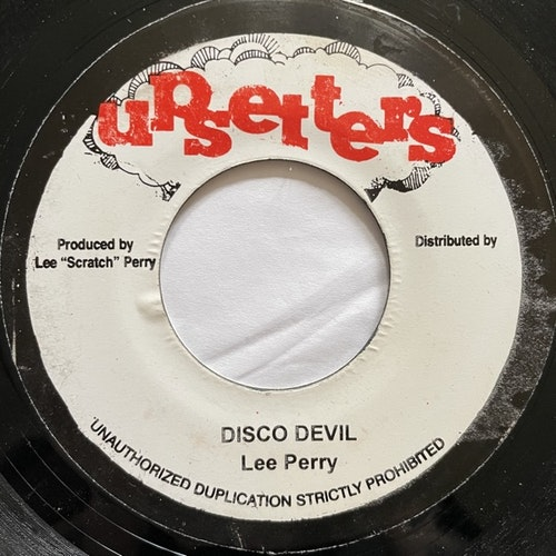 BOB MARLEY & THE WAILERS / LEE PERRY Keep On Skanking / Disco Devil (Upsetters - Jamaica reissue) (VG) 7""