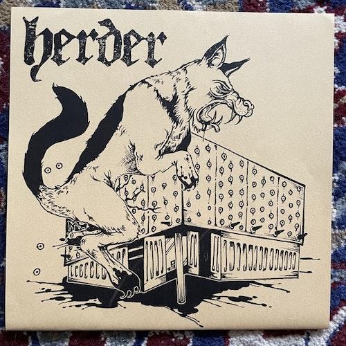"HERDER Doomed (Splatter vinyl) (Reflections - Holland original) (EX) 7"""