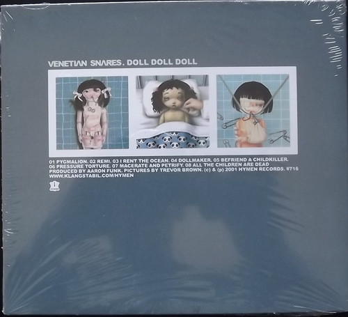 VENETIAN SNARES Doll Doll Doll (Hymen - Germany original) (SS) CD