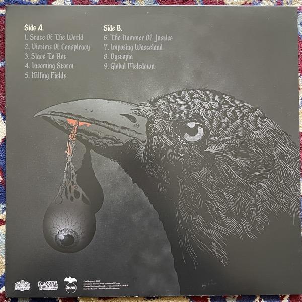 DEAD REPRISE Dystopia (Marbled vinyl) (De:Nihil - Sweden original) (EX/NM) LP
