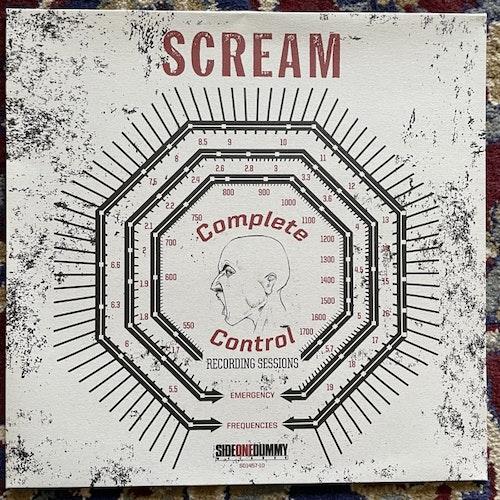 "SCREAM Complete Control Recording Sessions (Red vinyl) (SideOneDummy - Europe original) (EX) 10"""