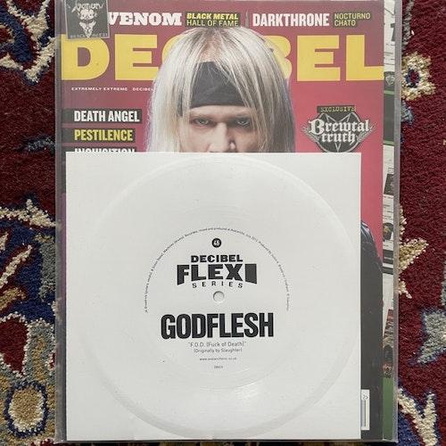"""GODFLESH / FLOOR / DECIBEL MAGAZINE #110 2013 (EX) MAGAZINE + 2x FLEXI 7"""""""