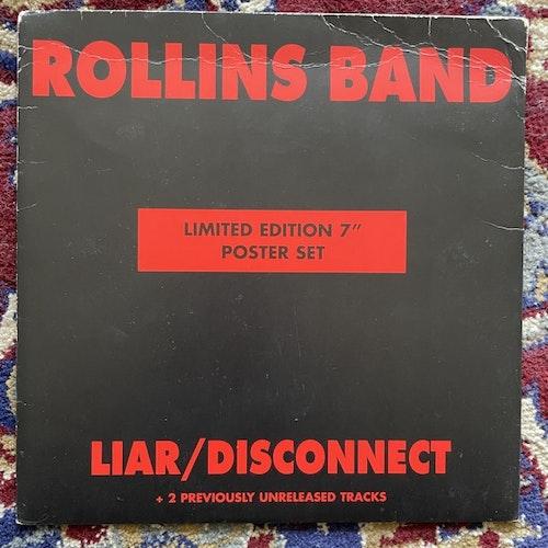 """ROLLINS BAND Liar / Disconnect (Imago - UK original) (VG/VG+) 7"""""""