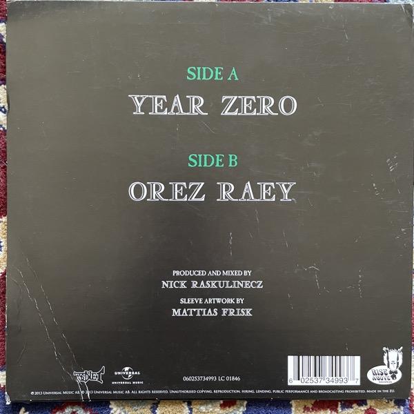 """GHOST Year Zero (Green vinyl) (Sonet - Sweden original) (G/EX) 10"""""""