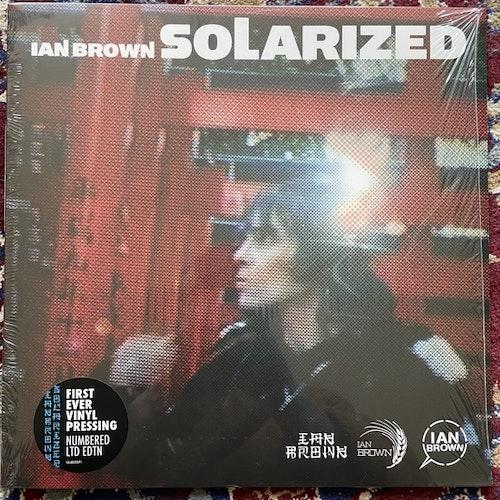 IAN BROWN Solarized (Fiction - UK reissue) (NM/EX) LP