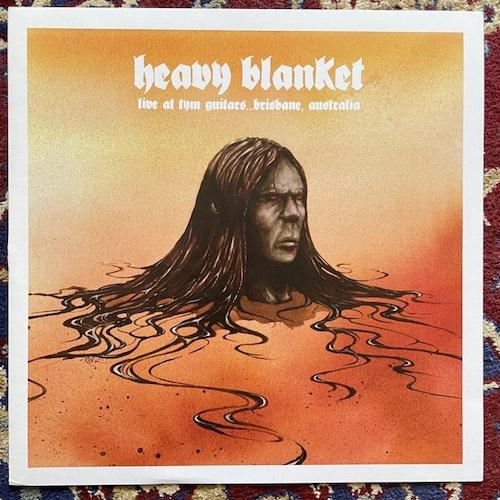 "HEAVY BLANKET Live At Tym Guitars... Brisbane, Australia (Red vinyl) (Tym - Australia original) (EX) 12"" EP"