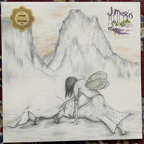 J MASCIS Elastic Days (Clear vinyl) (Sub Pop - Europe original) (NM) LP