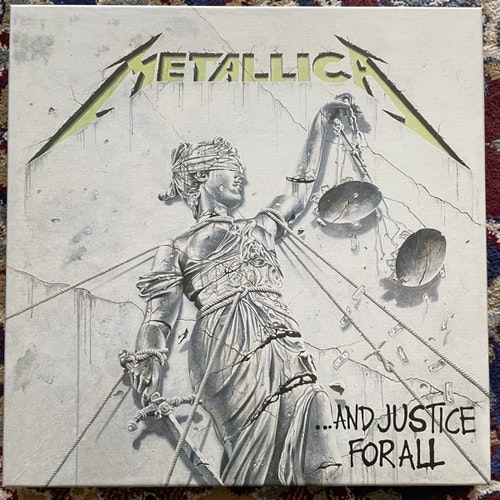 METALLICA ...And Justice For All (Universal - Europe reissue) (NM/EX) 4LP BOX