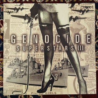 GENOCIDE SUPERSTARS III - Superstar Destroyer (Clear vinyl) (De:Nihil - Sweden reissue) (NM) LP