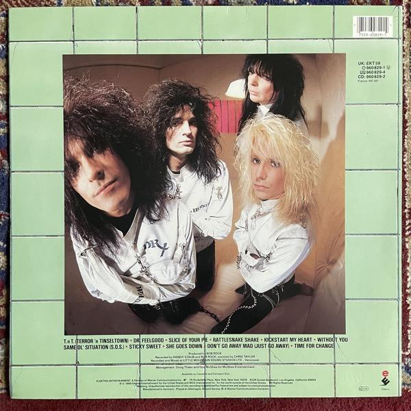 MÖTLEY CRÜE Dr. Feelgood (Elektra - Europe original) (EX/VG+) LP