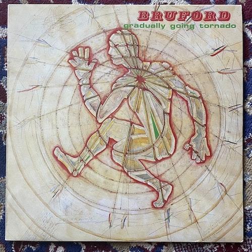 BRUFORD Gradually Going Tornado (Polydor - Scandinavia original) (EX/VG+) LP