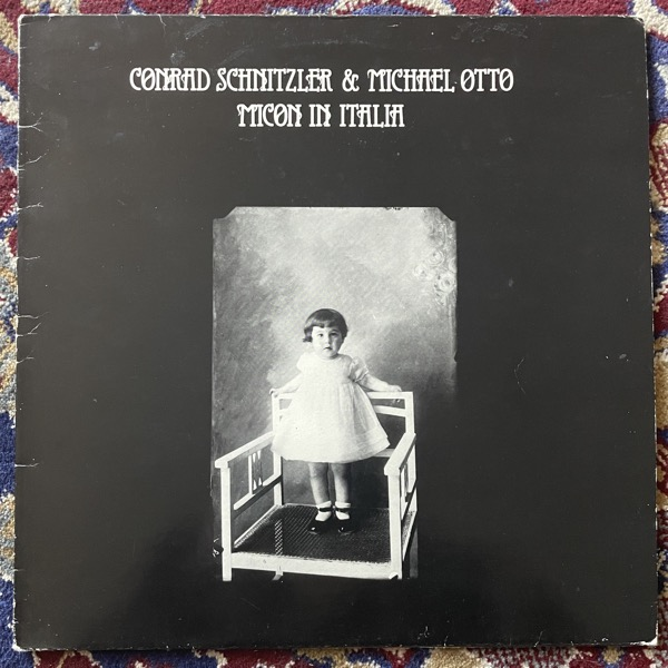 CONRAD SCHNITZLER & MICHAEL OTTO Micon In Italia (Auf Dem Nil - Italy original) (VG) LP