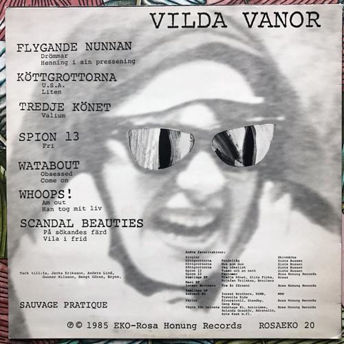 VARIOUS Vilda Vanor (Rosa Honung - Sweden original) (VG+) LP