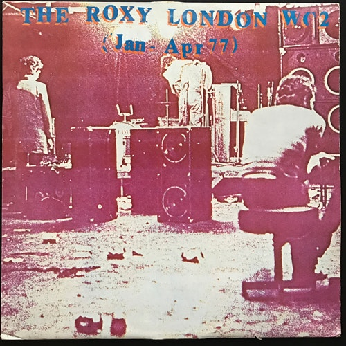 VARIOUS The Roxy London WC2 (Jan - Apr 77) (Harvest - UK original) (VG/VG+) LP