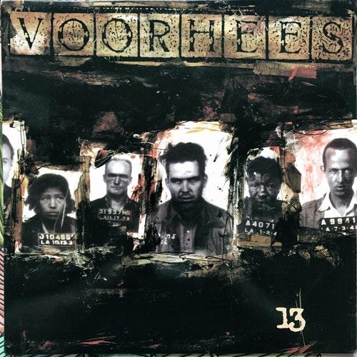 VOORHEES 13 (Six Weeks - USA original) (VG+/NM) LP