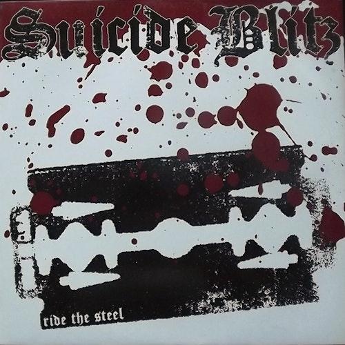 SUICIDE BLITZ Ride The Steel (Hate - Germany original) (VG+) LP