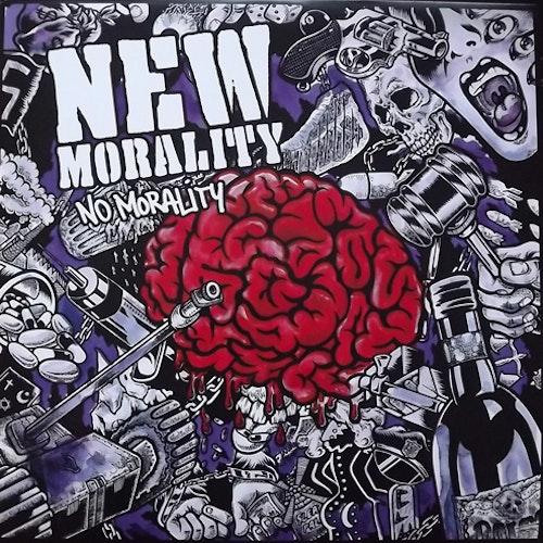 NEW MORALITY No Morality (Purple vinyl) (Carry The Weight - UK original) (EX) LP
