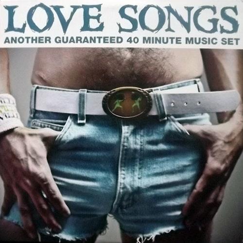 LOVE SONGS Another Guaranteed 40 Minute Music Set (Purple swirl vinyl) (Little Deputy - USA original) (EX) LP