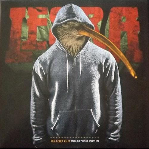 LESRA You Get Out What You Put In (Orange vinyl) (World vs Cometh - Sweden original) (EX) LP