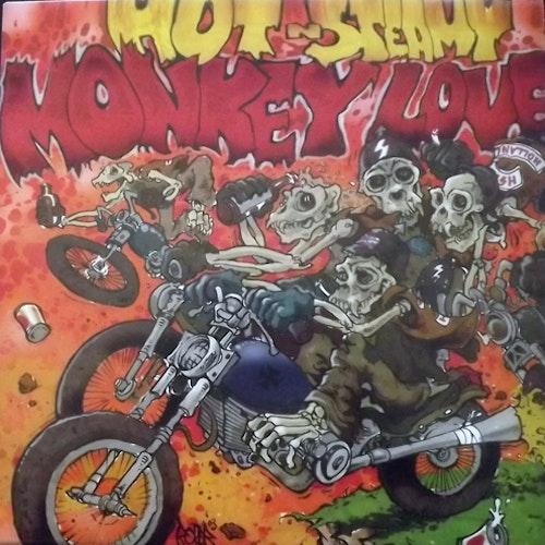 HOT N' STEAMY MONKEY LOVE Hot N' Steamy Monkey Love (Deadlock - Holland original) (NM/EX) LP