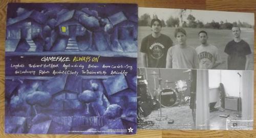 GAMEFACE Always On (Revelation - USA original) (EX) LP