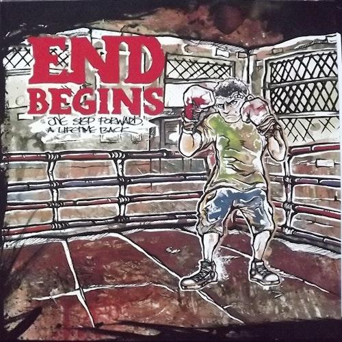 END BEGINS One Step Forward, A Lifetime Back (FullHouse - Finland original) (EX) LP+CD