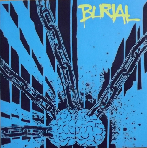 BURIAL Never Give Up... Never Give In (Hate - Europe original) (NM) LP