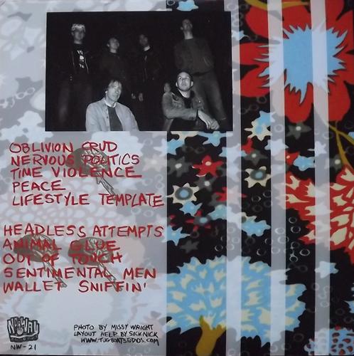 BRAIN HANDLE Brain Handle (Orange vinyl) (No Way - USA original) (EX/NM) LP