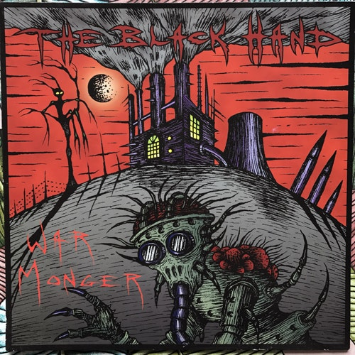 BLACK HAND, the War Monger (Scorched Earth Policy - Germany original) (VG+/EX) LP