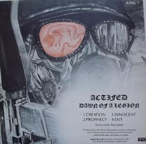 "ACTIFED Dawn of a Legion (Jungle - UK original) (VG+/EX) 12"" EP"
