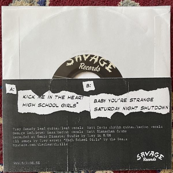 """CHEAP THRILLS Cheap Thrills (Savage - Sweden original) (VG+/EX) 7"""""""