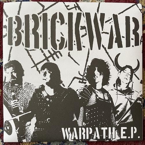 """BRICK WAR Warpath (Savage - Sweden original) (EX) 2x7"""""""