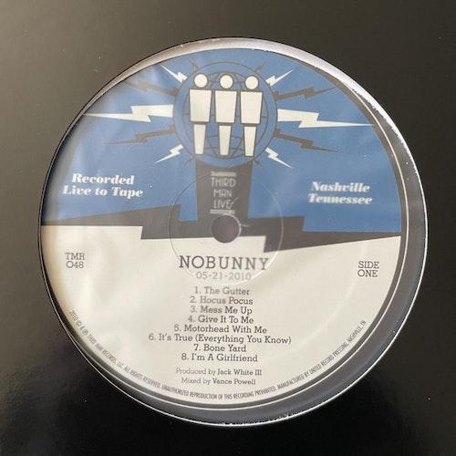 NOBUNNY Live At Third Man (Third Man - USA original) (VG+/EX) LP