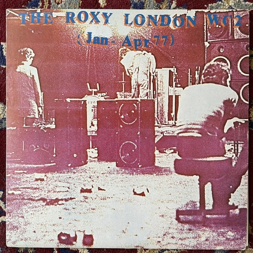 VARIOUS The Roxy London WC2 (Jan - Apr 77) (Harvest - UK original) (VG+/VG) LP