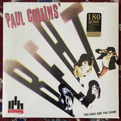 PAUL COLLINS' BEAT The Kids Are The Same (Get Hip - USA reissue) (EX/VG+) LP