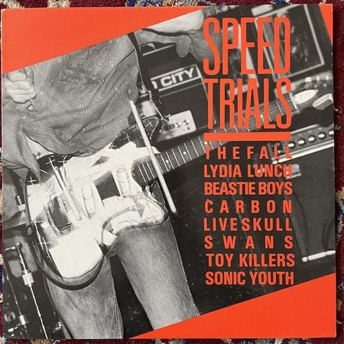 VARIOUS Speed Trials (Homestead - UK/USA original) (VG+) LP