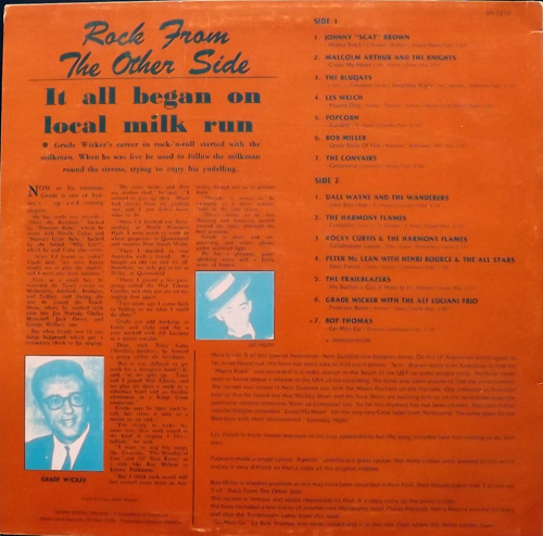 VARIOUS Rock From The Other Side Vol. 5 (Down South - Holland original) (VG+/EX) LP